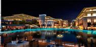 西安盛美利亚酒店夜景图