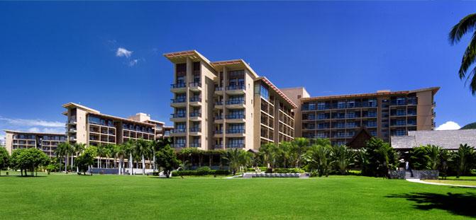 三亚亚龙湾红树林度假酒店外景