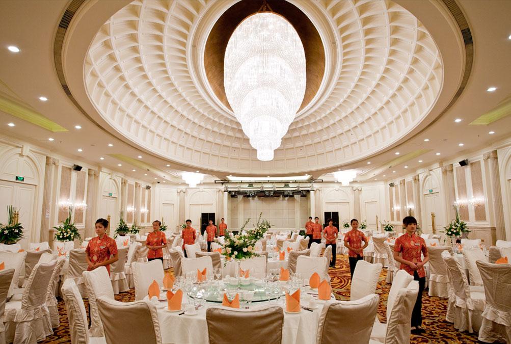 广州九龙湖公主酒店宴会厅