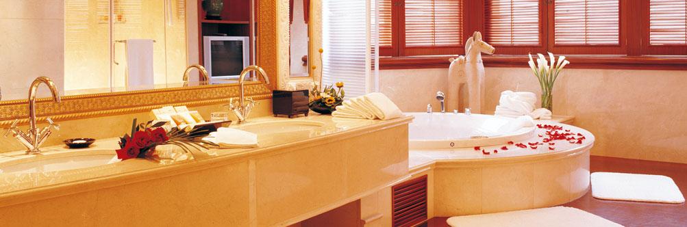 北京陕西大厦有限责任公司长安大饭店总统套浴室