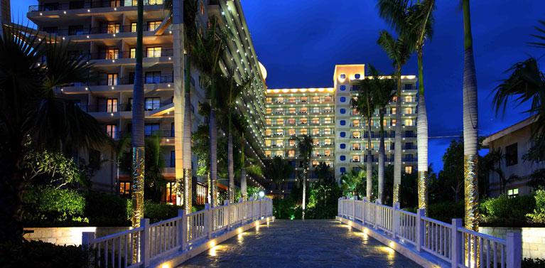 三亚辰光克拉码头酒店管理有限公司夜景