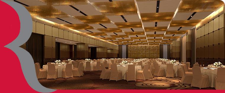 西安曲江华美达广场酒店宴会厅
