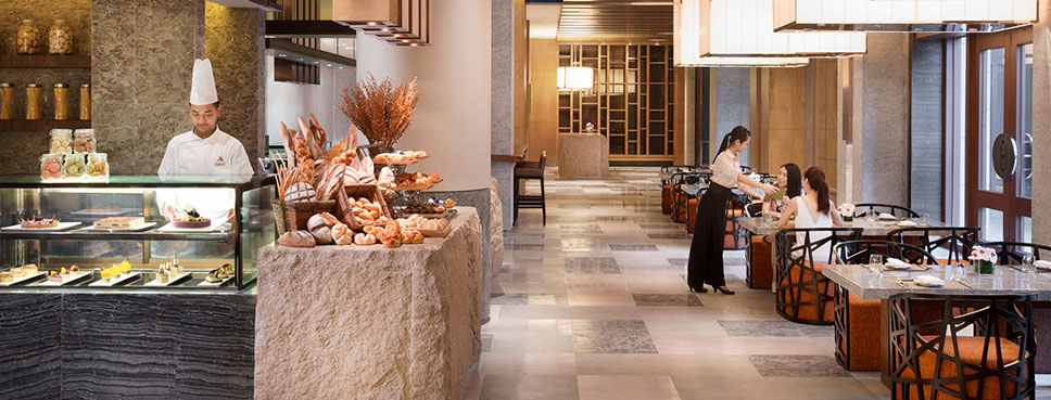 海口万豪酒店自助餐厅