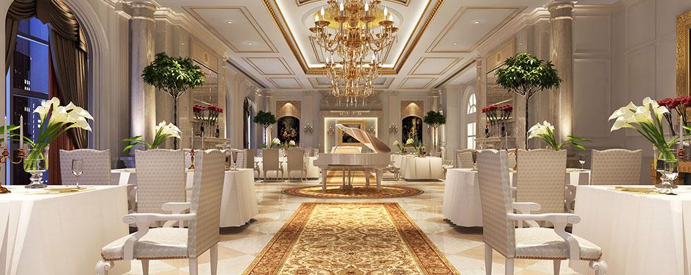 唐山盛世花园酒店法式餐厅