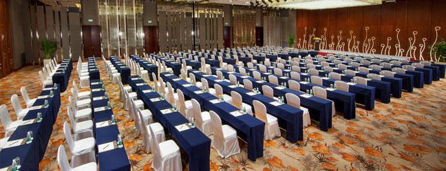 厦门日航酒店红梅厅会议室