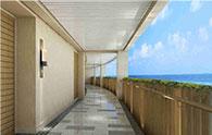 三亚蜈支洲岛珊瑚酒店管理有限公司客房走廊