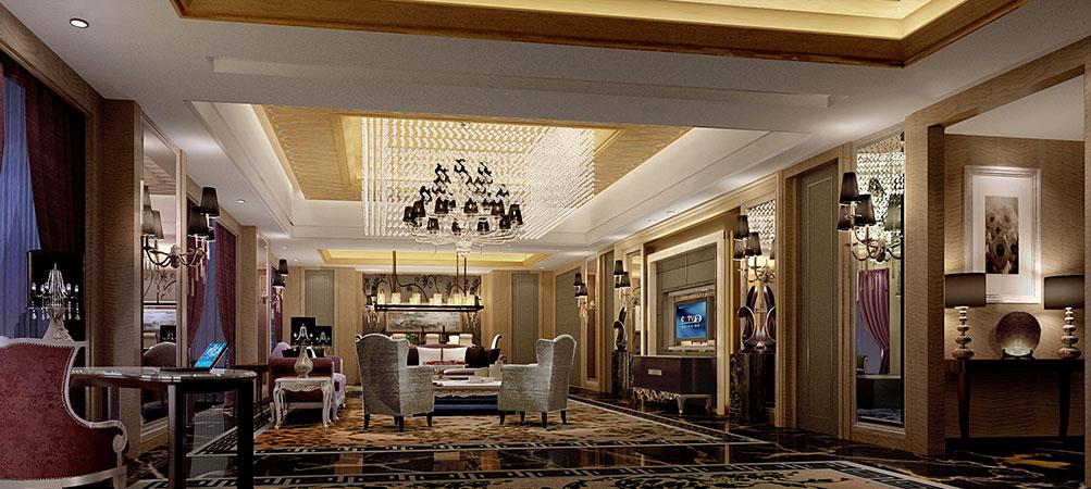 漳州明发温德姆至尊豪廷大酒店总统套房会客厅
