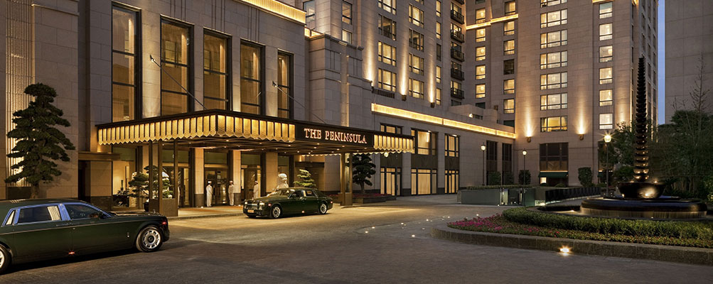 上海外滩半岛酒店有限公司的夜晚