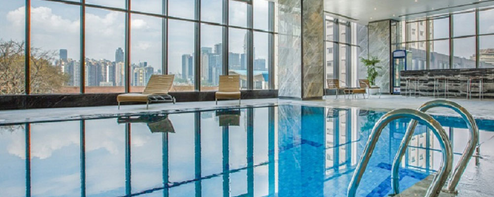 重庆翰文大酒店游泳池
