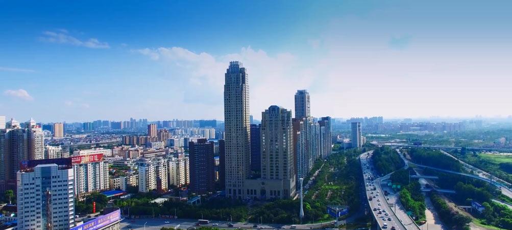 武汉万科君澜酒店夜景