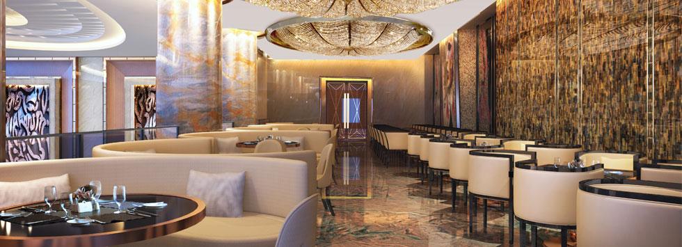 武汉友谊国际大酒店二层全日制餐厅
