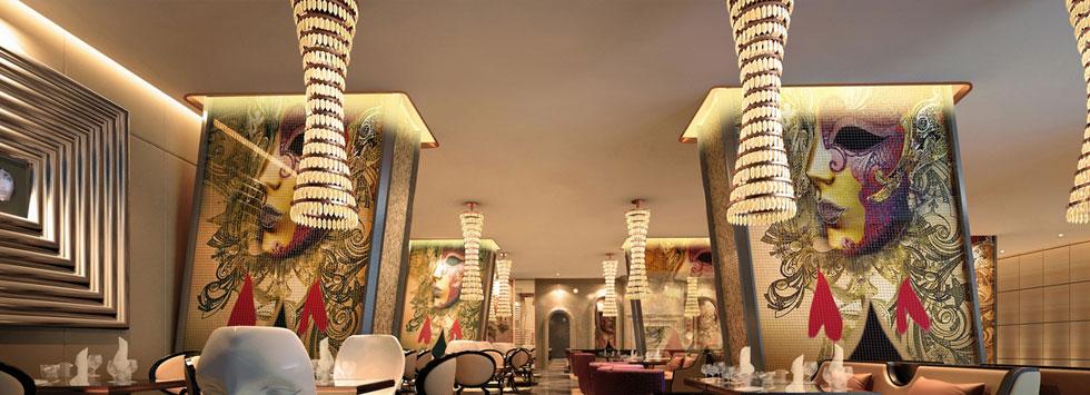 武汉友谊国际大酒店二层西餐厅