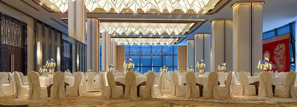 武汉友谊国际大酒店三层宴会厅