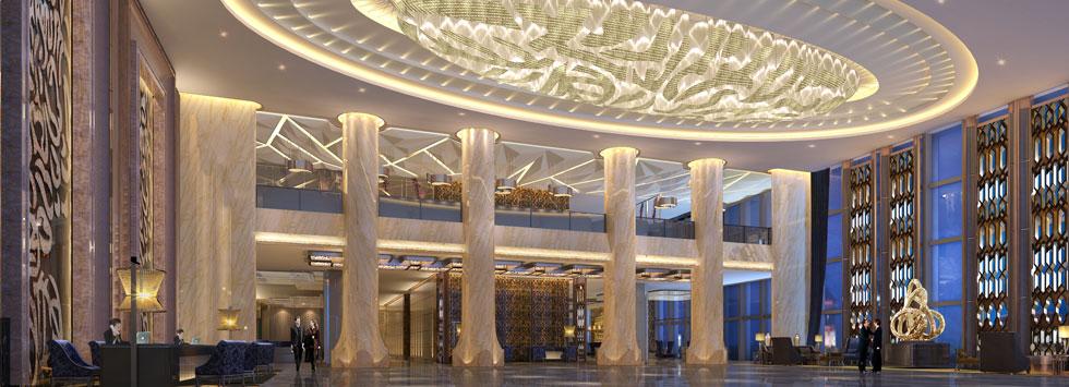 武汉友谊国际大酒店一层大堂