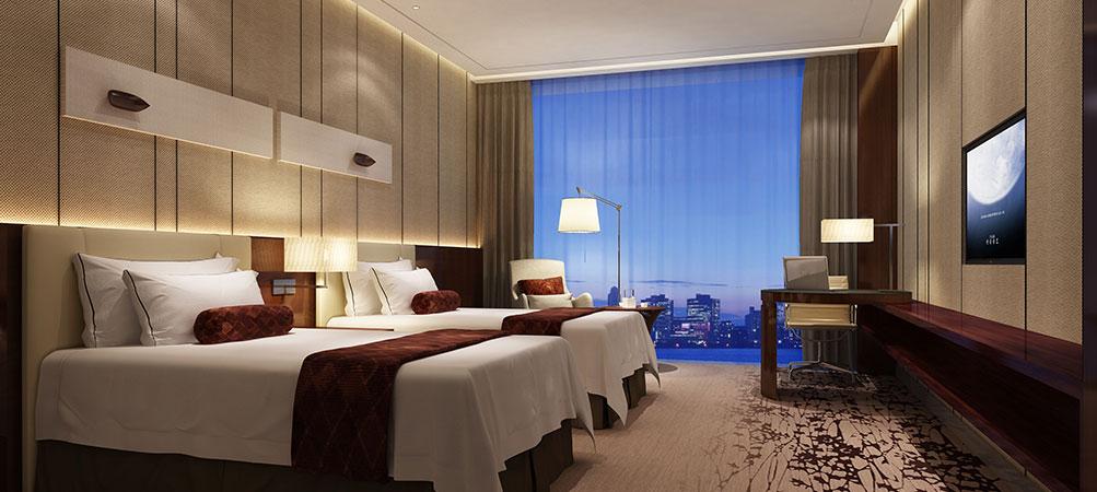 长沙雅士亚华美达广场酒店高级双人房