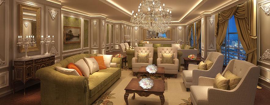 深圳丽雅查尔顿酒店VIP豪华套房
