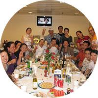 威海市升安海运有限责任公司员工聚餐