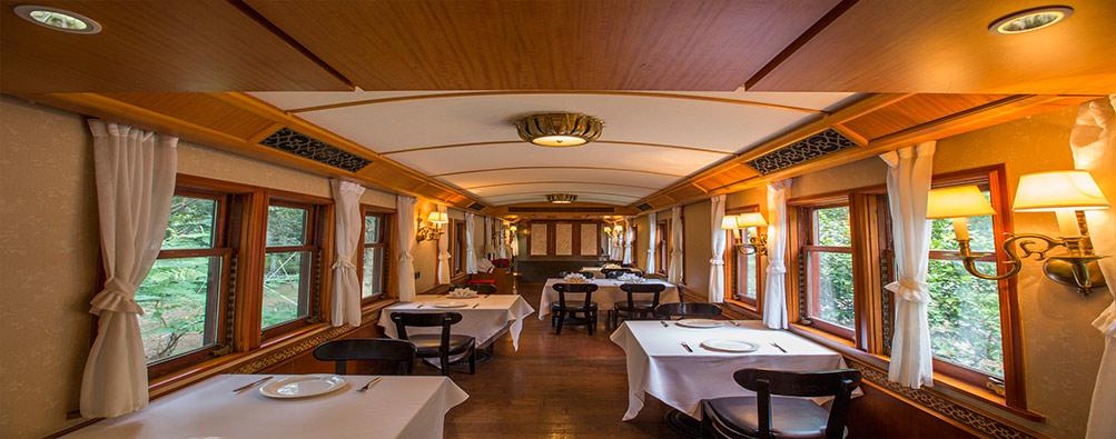 华为美食广场火车餐厅