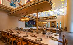 华为美食广场日餐厅
