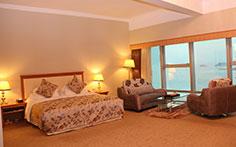 珠海德翰大酒店有限公司豪华海景大床房