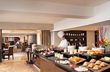 上海波特曼丽思卡尔顿酒店自助餐厅
