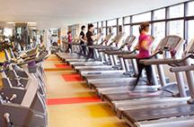 上海波特曼丽思卡尔顿酒店健身房