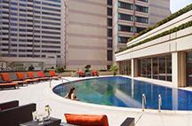 上海波特曼丽思卡尔顿酒店游泳池