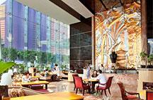 上海浦东丽思卡尔顿酒店大堂