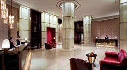 上海浦东丽思卡尔顿酒店空中大厅