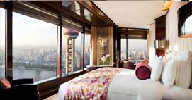 上海浦东丽思卡尔顿酒店套房