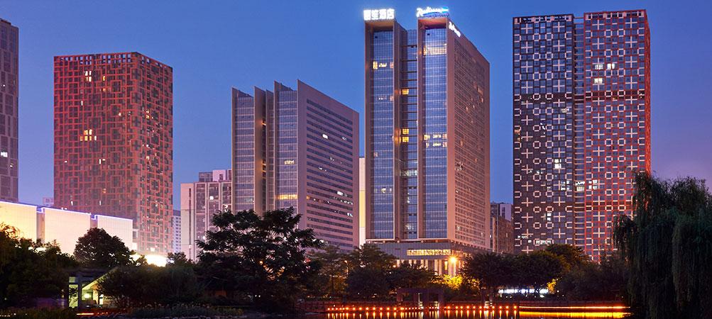 柳州丽笙酒店(Radisson Blu Hotel Liuzhou)夜景