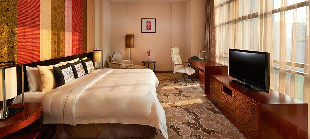 柳州丽笙酒店(Radisson Blu Hotel Liuzhou)豪华大床房