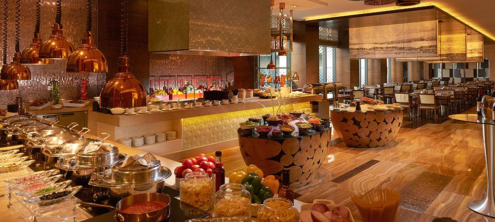 柳州丽笙酒店(Radisson Blu Hotel Liuzhou)自助餐厅