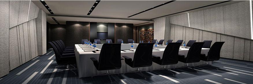 天津泛太平洋大酒店会议室