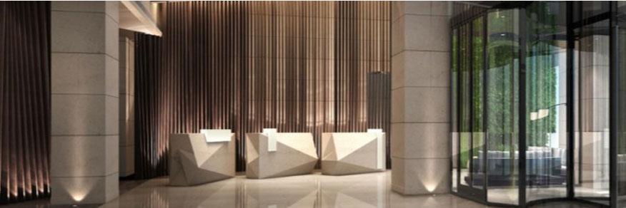 天津泛太平洋大酒店大厅
