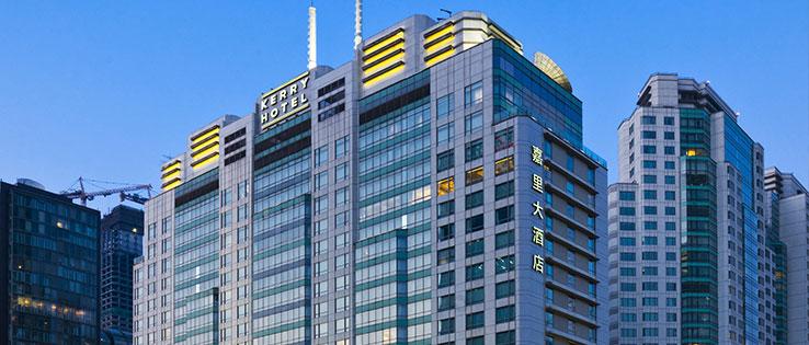 上海浦东嘉里大酒店外景