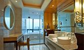 重庆欧瑞酒店管理有限公司行政时尚房洗手间