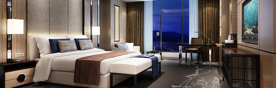 兴合阳光酒店客房