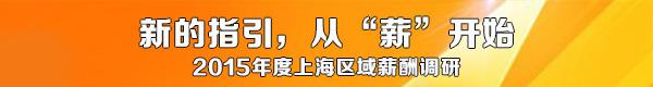 2015年度上海地区薪酬调查问卷(企业版)